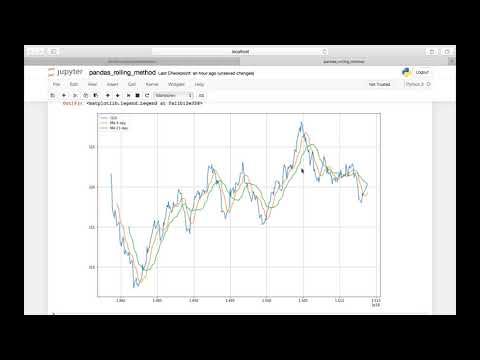 Python Pandas || Moving Averages and Rolling Window