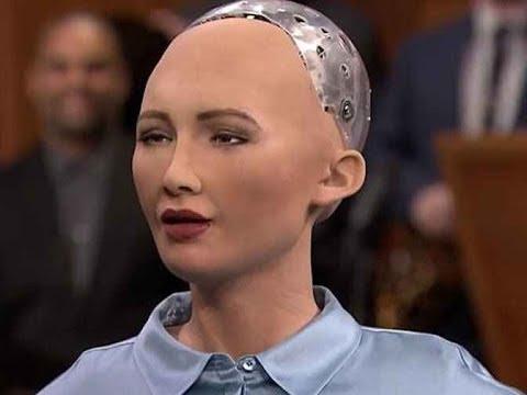 SOPHIA, la prima robot con cittadinanza saudita e il suo discorso in Arabia - VIDEO