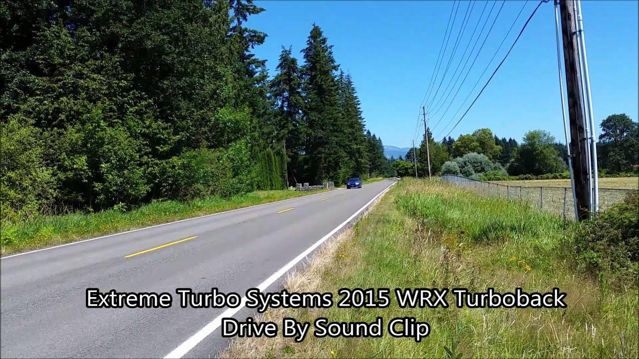 Best 2016 WRX Exhaust - VFR auto blog
