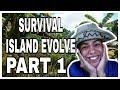 UNANG GABI NI KABAYAN SA SURVIVAL ISLAND | PART 1