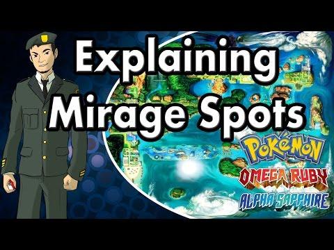 Explaining Mirage Spots: Pokemon Alpha Sapphire And Omega Ruby [ORAS]