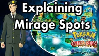 Explaining Mirage Spots: Pokemon Alpha Sapphire and Omega Ruby [ORAS]