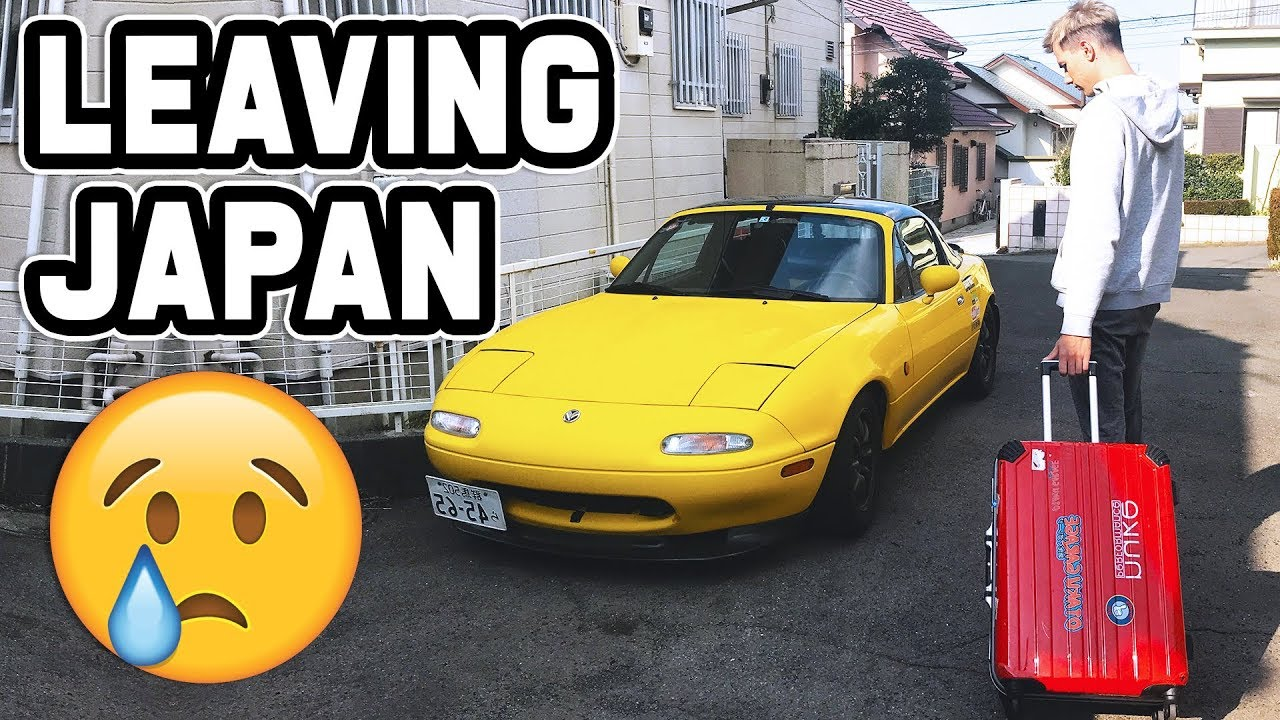 LEAVING JAPAN & ROADSTER TURBO KIT!?