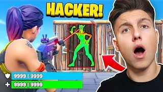 10.000 HP Hacker 1v1 in FORTNITE!