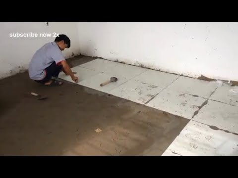 Amazing Creative Construction Tiles Yard You Must See - Technology Building Yard Step By Step