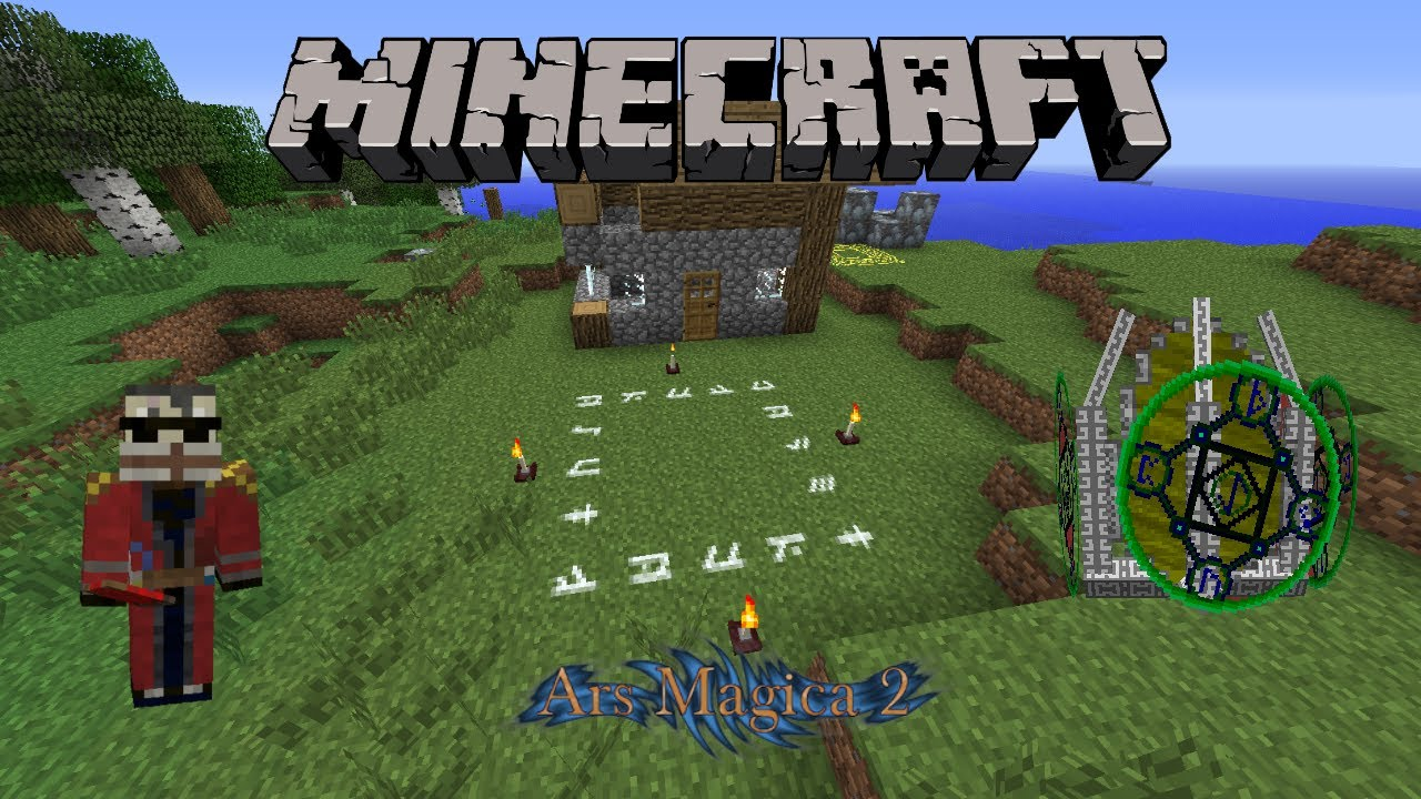 Minecraft Ars Magica 2 1 2 Life Guardian Mithion