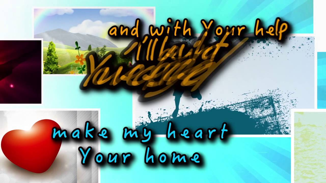Download My Heart Your Home (Lyric video)   Kidz Under Construction