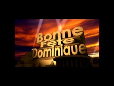 Bonne Fête Dominique Youtube