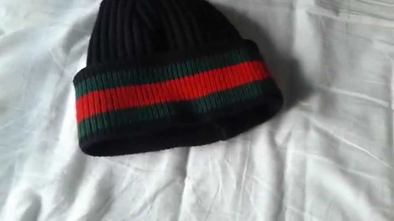 f8522238b6f Gucci Beanie   Scarf Review - YouTube