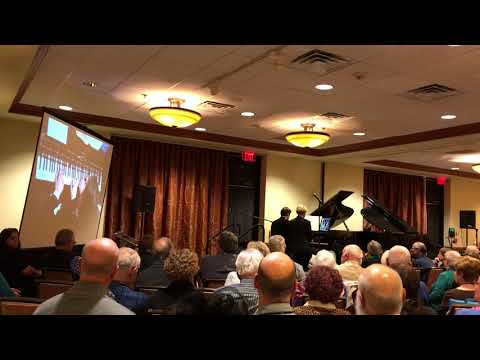 Schmetterer and Hodges waltz medley West Coast Ragtime Festival November 2017
