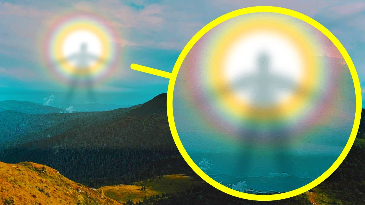 Mysterious Shadow Giants Nearly Stop Hikers Hearts