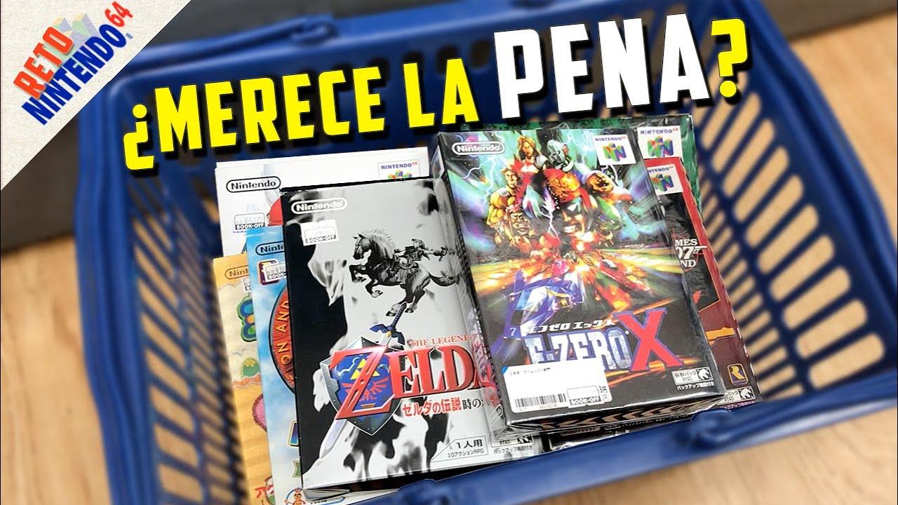 ¡El día que COMPRÉ más juegos de NINTENDO 64! | RETO N64 | ¿Un ZELDA nuevo en 2020?