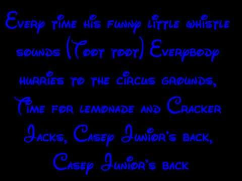 Casey Junior - Dumbo Lyrics HD