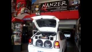 Volkswagen Gol Power equipado por NANZER Car Audio by BOMBER.MPG