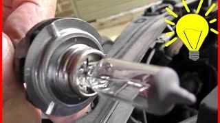 Mazda3 Scheinwerfer Birne wechseln