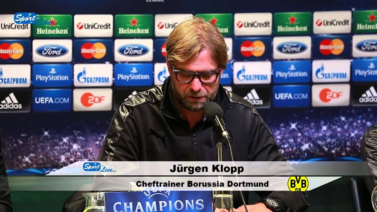 BVB-Pressekonferenz vom 05. November 2013 vor dem Spiel Borussia Dortmund gegen Arsenal London mit Jürgen Klopp und Marco Reus