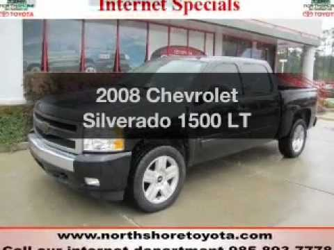 Northshore Toyota 2008 Chevrolet Silverado 1500 Covington La