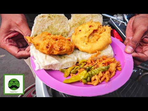 Pune Food Tour with Veggiepaaji | Spicy Smoked Misal, Garden Vada Pav & More | Indian Street Food