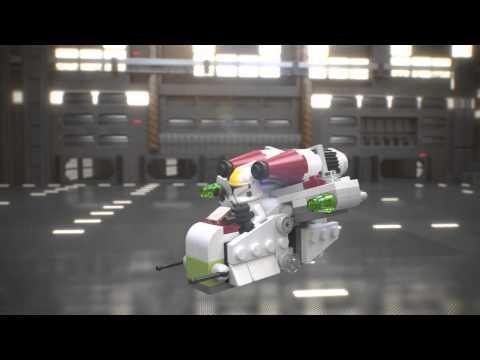 Republic Gunship - LEGO Star Wars - 75076 - Product Animation