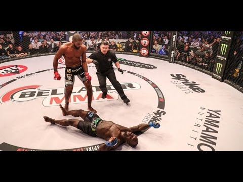 Bellator 176: Carvalho vs. Manhoef 2 Fight Highlights