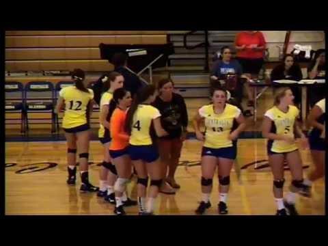 Centralia College Women's Volleyball  8-30-2016