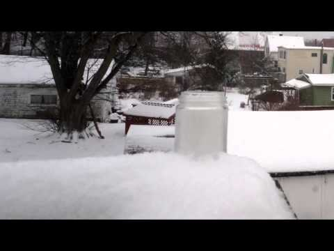 4 Jan 2015 Halifax snowstorm time lapse