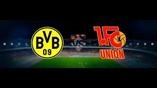 Прогноз на матч Чемпионата Германии Боруссия Дортмунд - Унион Берлин смотреть онлайн бесплатно