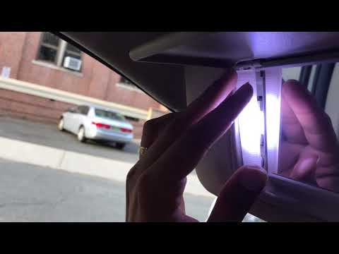 How To Change LED Vanity Mirror Lights In Sun Visor