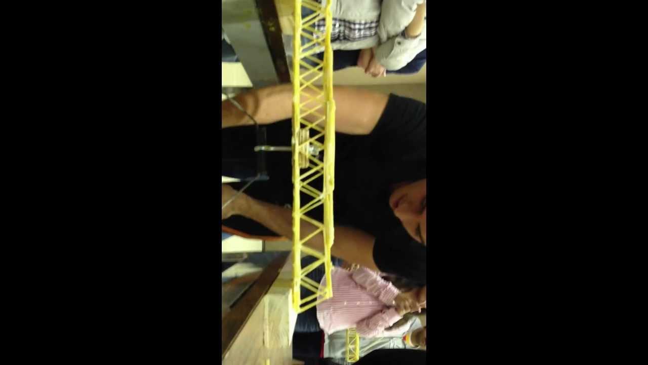 Puente de espagueti resistencia youtube - Como hacer espaguetis al pesto ...