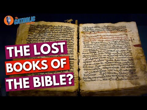 The Lost Books Of The Bible | The Catholic Talk Show