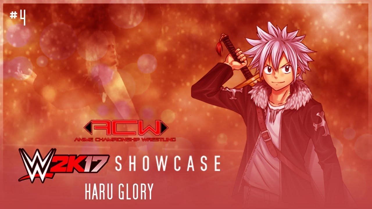 acw wwe2k17 showcase #4 - haru glory (entrance) - youtube