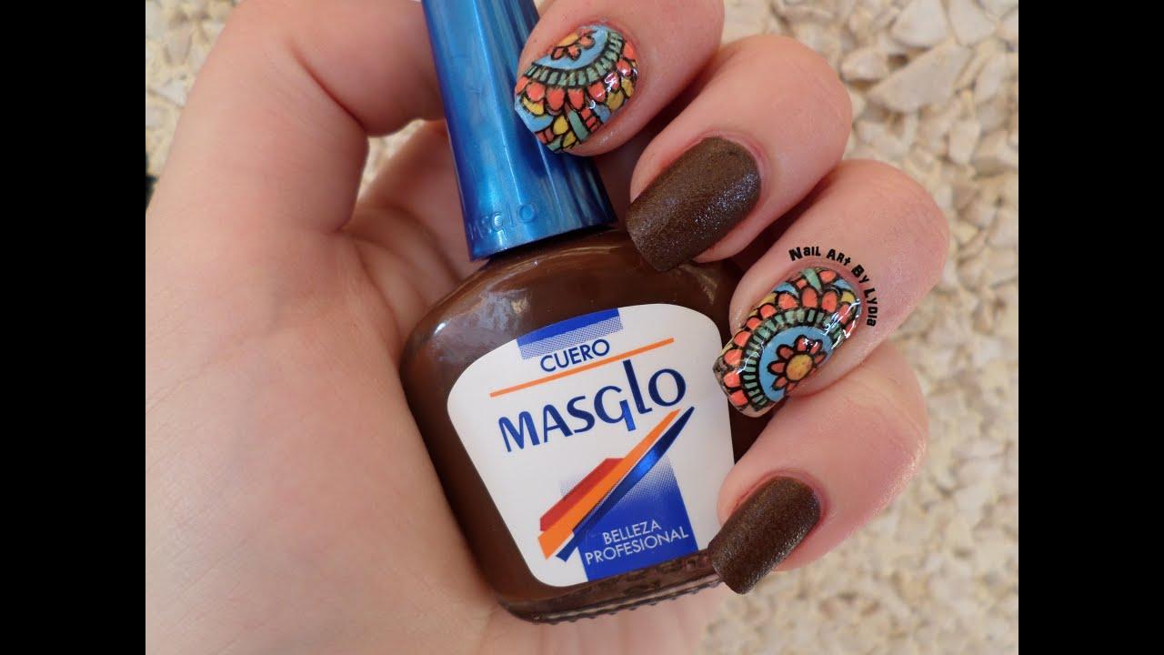 Reverse Stamping - Pegatinas Caseras Nail Art - YouTube