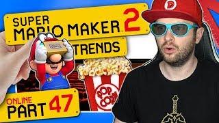 SUPER MARIO MAKER 2 ONLINE 👷 #47: Mario geht ins Kino