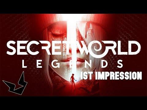 Secret World Legends | 1st Impression | Rifle Torch...