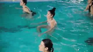 Аквааэробика в премиум фитнес-клубе ТЕТРА