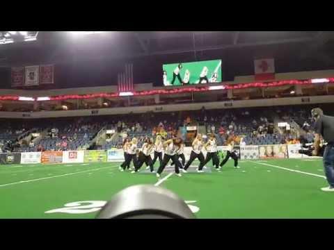 Texas Revolution Dancers Halftime
