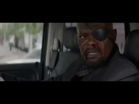 Нападение на Ника Фьюри. Часть-1.  Первый Мститель: Другая война. 2014