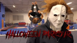 HALLOWEEN PARKOUR FEAT MICHAEL MYERS