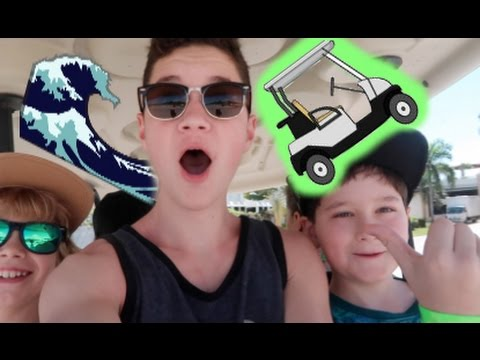 WE RENTED A GOLF CART!! *SECURITY CAUGHT US* (D.R Day 4)