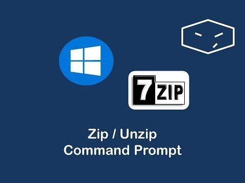 Windows 7zip command line extract