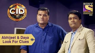 Your Favorite Character   Abhijeet & Daya Look For Clues   CID
