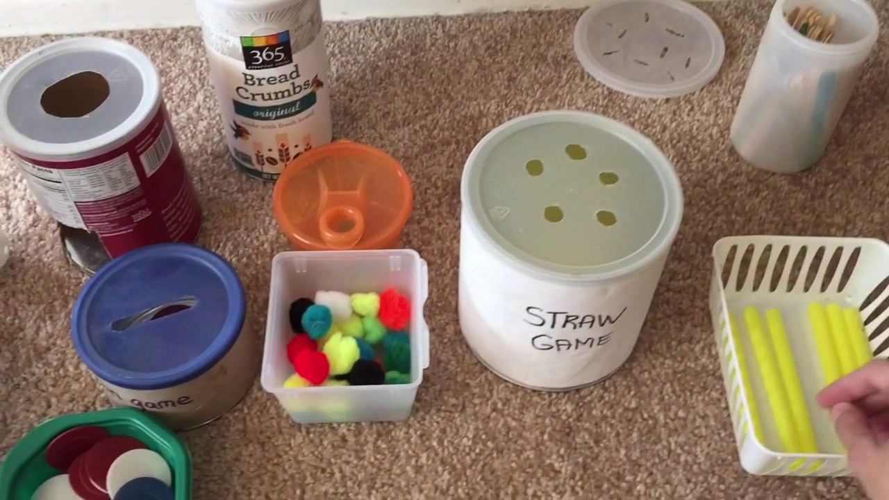 Homemade Fine Motor Activities 8 Months To 2 Years Do It Yourself