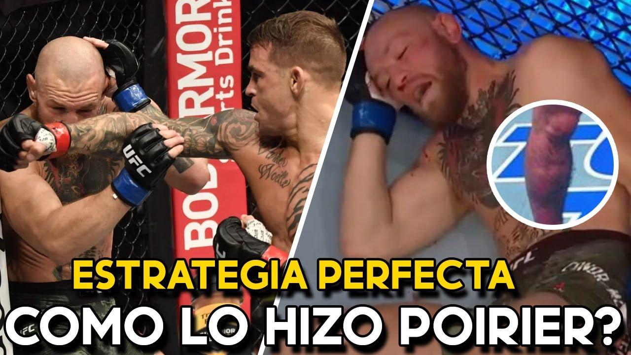 ESTRATEGIA PERFECTA ¿Cómo Dustin Poirier NOQUEO a Conor Mcgregor? | Poirier vs Mcgregor ANALISIS UFC