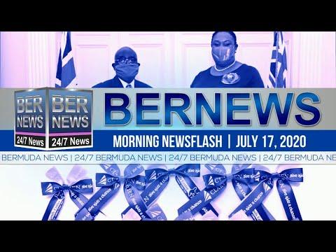 Bermuda Newsflash For Friday, July 17, 2020