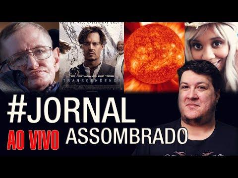 J.A.#228: Morre Stephen Hawking! Cérebro Orgânico em Robô! Síndrome do Sotaque! Vento Solar Terra