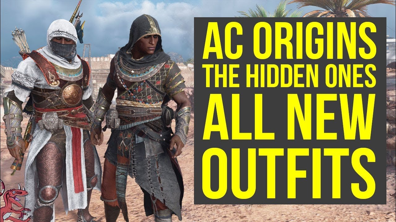 Assassin S Creed Origins Dlc All New Outfits From The Hidden Ones