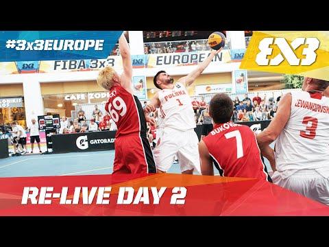 Day 2 Re-Live  - 2016 FIBA 3x3 European Championships