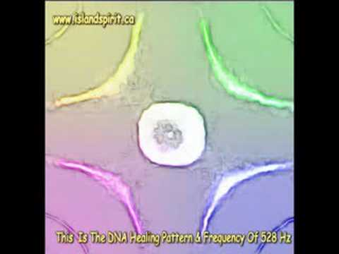The DNA Visual Healing Pattern & Frequency Of 528 Hz Galactic Harmonic Shift?