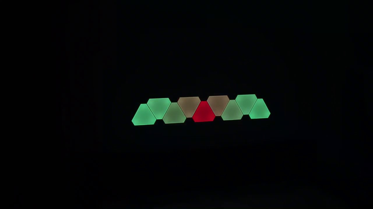 Nanoleaf Aurora - YouTube