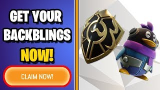 How to CLAIM your Fortnite China BACKBLINGS PROPERLY (Find your Invite Links)